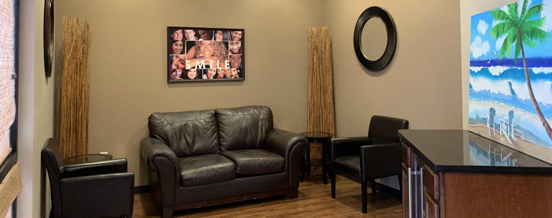 Reflections Dental Waiting Room